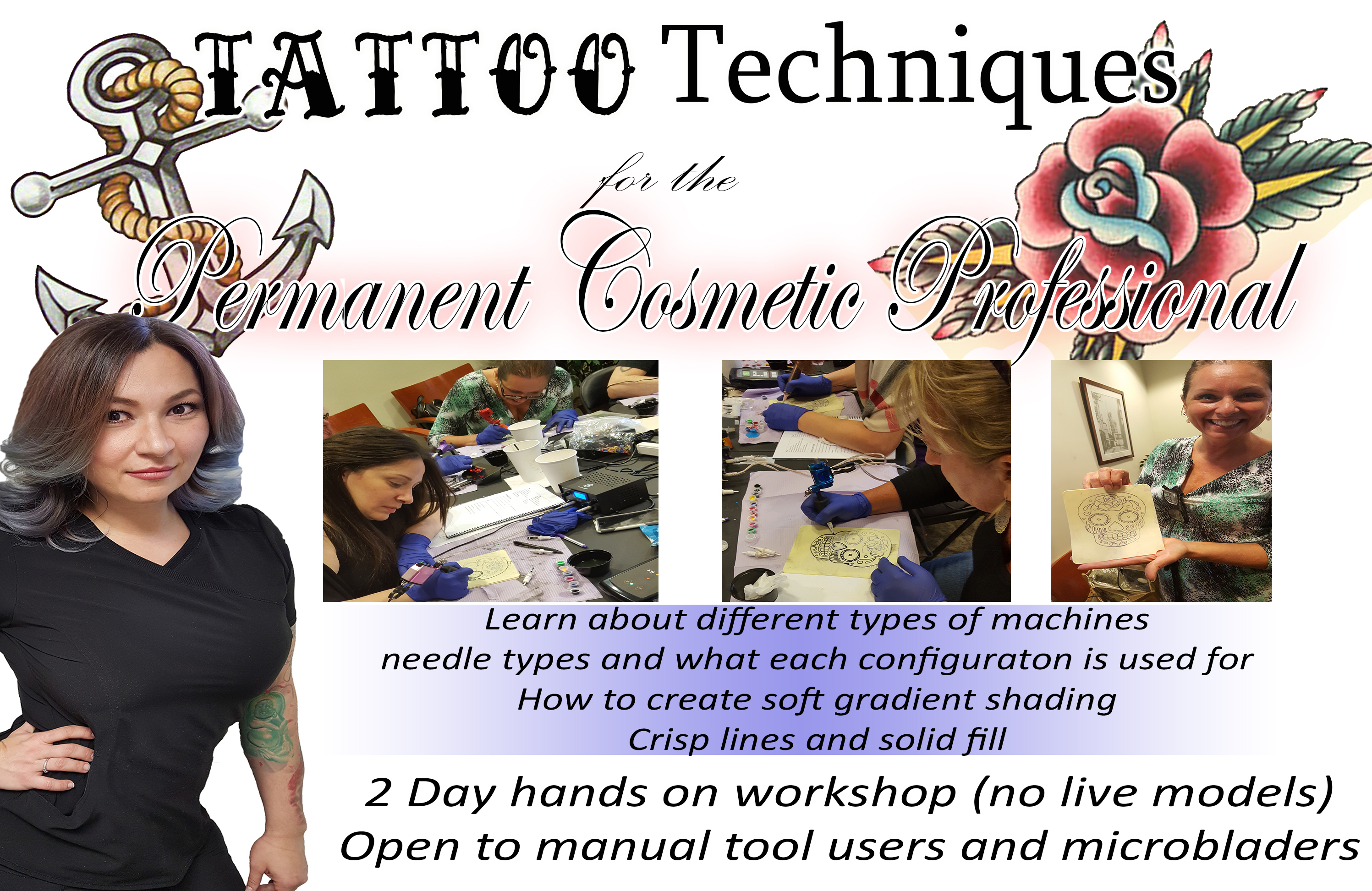 Tattoo Techniques for the Permanent Cosmetic Professionals